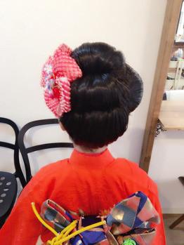 エミリィの七五三おすすめ美容室マチュレ(表参道)