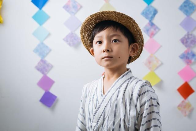 高野和希が渋谷のスタジオで撮影したキッズ写真