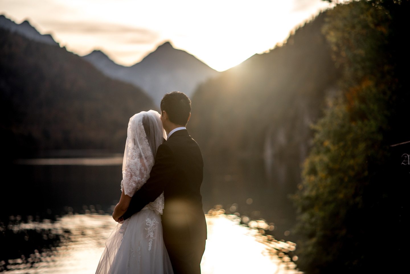 Prewedding Photo at Eibsee Lake