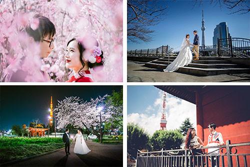 Pre Wedding Photos taken by Layla Shibukawa Photography in Tokyo