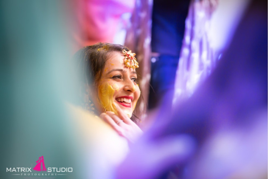 photo from ceremony in India— Photo by Matrix Studio