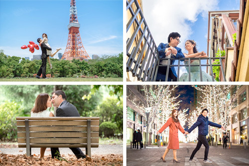 Pre Wedding Photos taken by Natsumetic Photography in Tokyo
