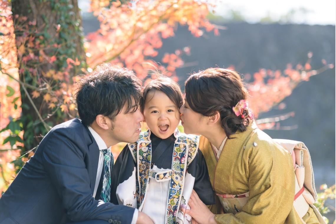 七五三家族写真のアイデア(エミリィの出張撮影)