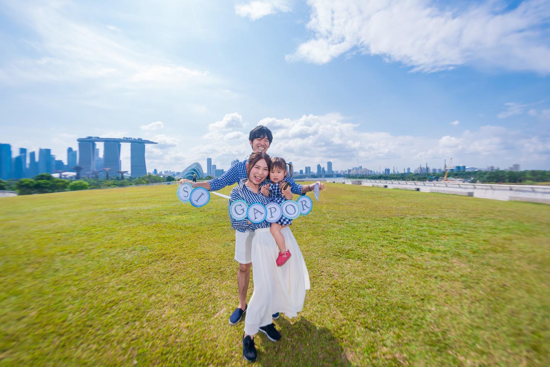 David Gohの撮ったシンガポールでの家族写真(エミリィ)