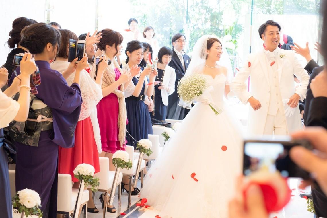A happy couple! — Photo by Takano Kazuki