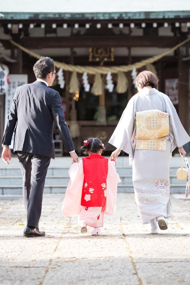 midica photographyが撮影した東京の神社での七五三写真